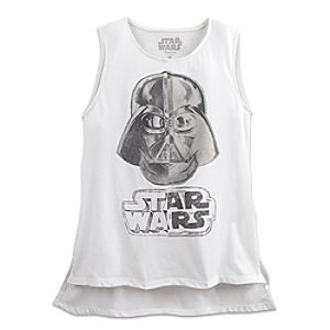 Darth Vader Tank Top for Women - Star Wars