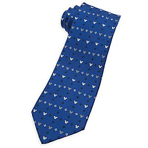 Mickey Mouse Icon Tie for Men - Rows