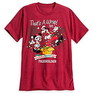 Mickey Mouse and Goofy Spectacle of Dancing Lights Tee for Adults - Walt Disney World - Limited Release