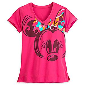 Minnie Mouse Performance Tee for Women