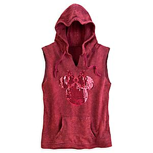 Minnie Mouse Hooded Vest for Women - Disney Boutique