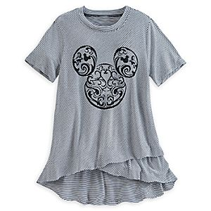 Mickey Mouse Filigree Top for Women - Disney Boutique
