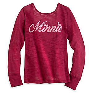Minnie Mouse Signature Top for Women - Disney Boutique