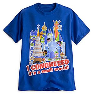 its a small world Tee for Adults