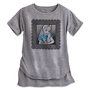 Alice in Wonderland Fashion Tee for Women