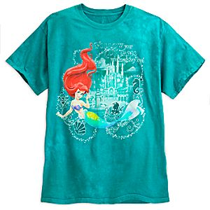Ariel Tie-Dye Tee for Adults