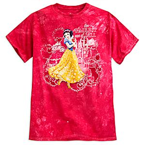 Snow White Tie-Dye Tee for Adults