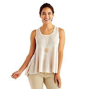 Metallic Tank Top for Women by Kingdom Couture