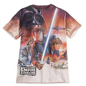 Star Wars: The Empire Strikes Back Sublimated Tee for Men