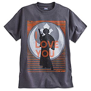 Princess Leia Tee for Adults - Star Wars