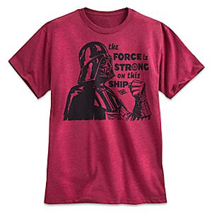 Darth Vader Tee for Men - Disney Cruise Line