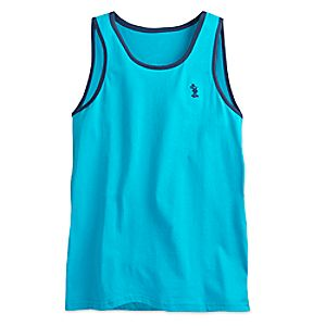 Mickey Mouse Tank Top for Men - Teal