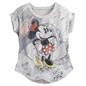 Minnie Mouse Dolman Knit Top for Women