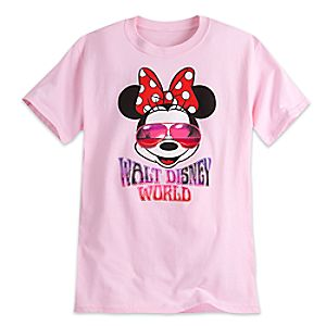 Minnie Mouse in Sunglasses Tee for Adults - Walt Disney World