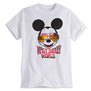 Mickey Mouse in Sunglasses Tee for Adults - Walt Disney World