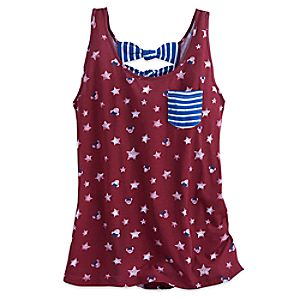 Minnie Mouse Icon Americana Tank Top for Women