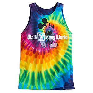 Mickey Mouse Tie-Dye Tank Tee for Adults - Walt Disney World