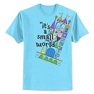 its a small world Anniversary Tee for Adults - Limited Release