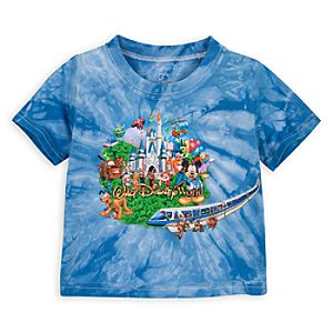 Tie Dye Storybook Walt Disney World Tee for Baby Boys