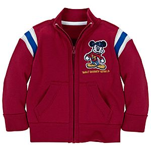 Mascot Mickey Mouse Fleece Track Jacket for Toddler Boys