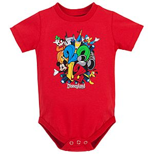 Disneyland 2012 Mickey Mouse Bodysuit for Baby