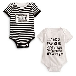 Jack Skellington Coverall Set for Baby -- 2-Pc.