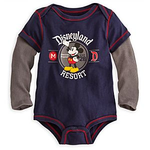 Mickey Mouse Bodysuit for Baby - Disneyland