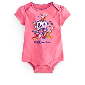 Sorcerer Mickey Mouse Bodysuit for Baby Girls - Walt Disney World 2013
