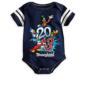 Sorcerer Mickey Mouse and Friends Bodysuit for Baby - Disneyland 2013