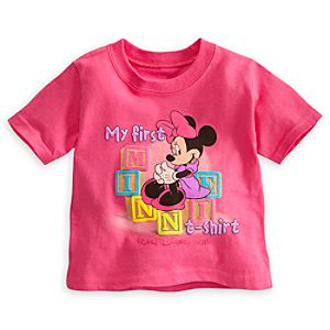 Minnie Mouse My First Tee for Baby - Walt Disney World