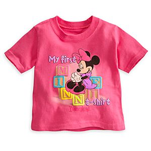 Minnie Mouse My First Tee for Baby - Disneyland