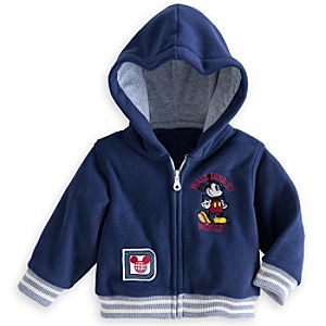 Mickey Mouse Hooded Fleece Jacket for Baby - Walt Disney World