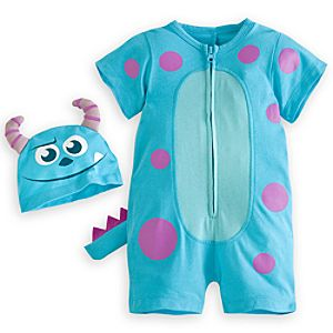 Sulley Short Sleeve Romper for Baby