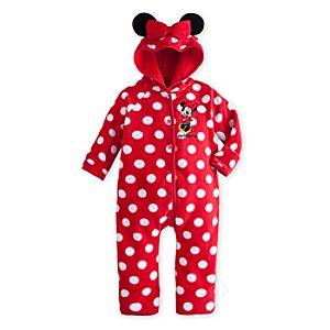 Minnie Mouse Fleece Bunting for Baby - Walt Disney World