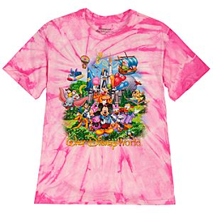 Tie-Dye Storybook Walt Disney World Resort Tee for Girls