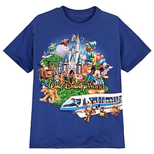 Storybook Walt Disney World Tee for Boys