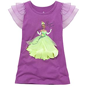 Glittering Gown Tiana Tee for Girls