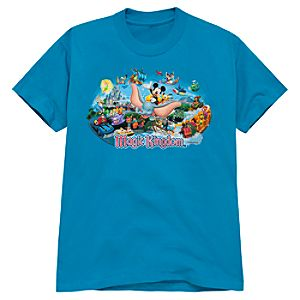 Disney Storybook Attractions Magic Kingdom Tee for Kids