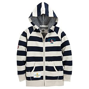 Disney Cruise Line Striped Hoodie for Kids
