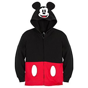 Costume Mickey Mouse Hoodie for Kids