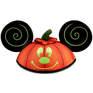 Pumpkin Mickey Mouse Ear Hat