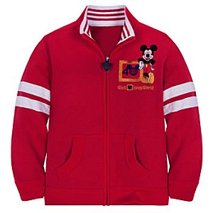 40th Anniversary Walt Disney World Mickey Mouse Jacket for Boys