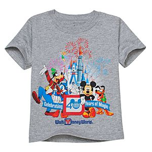 40 Years of Magic Walt Disney World Tee for Kids