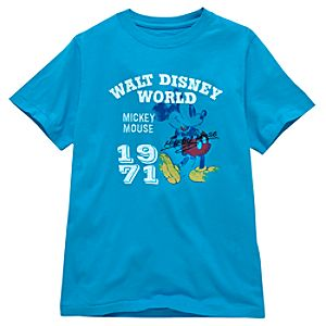 Walt Disney World Classic Mickey Mouse Tee for Boys