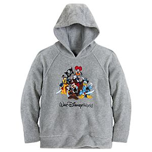 Walt Disney World Pirates of the Caribbean Mickey Mouse Fleece Hoodie for Boys