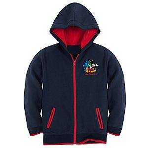 Zip Fleece 2012 Walt Disney World Hoodie for Boys