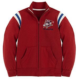 Fleece Mascot Mickey Mouse Jacket for Boys
