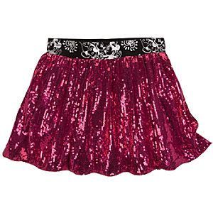 Sequined Mickey and Minnie Mouse Skirt for Girls