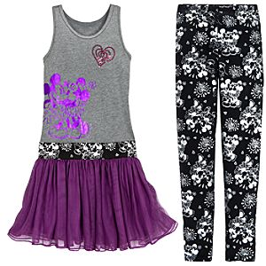 Mickey and Minnie Mouse Tunic and Legging Set for Girls -- 2-Pc.