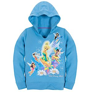 Walt Disney World Fleece Tinker Bell Hoodie for Girls